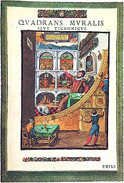 Le quadrant mural de Tycho Brahe