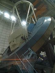 Télescope Mayall à l'observatoire national de Kitt Peak.