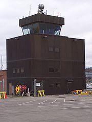 La tour de contrôle.