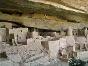 Mesa Verde, Colorado, architecture amérindienne