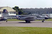 Un Meteor NF.11 conservé en état de vol