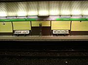 La station Lesseps (L3)