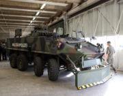 Véhicule de la police militaire suisse