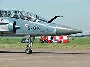 L'avant d'un Mirage 2000B