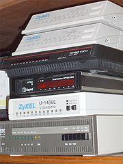 Pile de modems externes