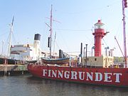Le Finngrundet au musée Vasa