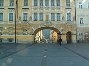 Arc surbaissé en Slovénie