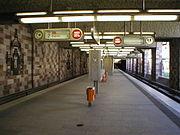 La station Opernhaus (Opéra)