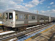 Rame de métro de type R44. (Ligne A)