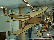 Nieuport XI Bébé au musée du Bourget.
