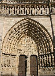 Tympan architecture d finition et explications for Architecture gothique definition