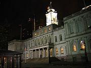 L'hôtel de ville de New York