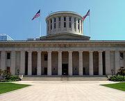 Le capitole de Columbus (Ohio), 1861, Henry Walters, style néoclassique