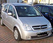 Opel Meriva A (Version 2003-2005)