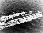 L'Omsk, sous-marin de classe Oscar