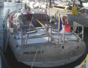 Pen Duick 5 à Port Haliguen