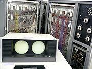 CDC 6600 avec sa console