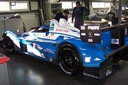 Pescarolo-Judd 2008 à l'atelier Pescarolo Sport au Technoparc des 24 Heures du Mans