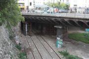 Au Pont de Crimée (Parc des Buttes Chaumont), Paris 19eme