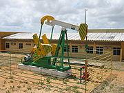 Puits de pétrole de la compagnie Petrobas