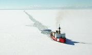 Le Polar Sea américain en route.