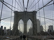 Le Brooklyn Bridge.