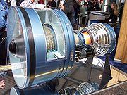 Un réacteur PW 4000