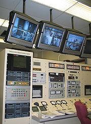 Salle de contrôle du réacteur PULSTAR