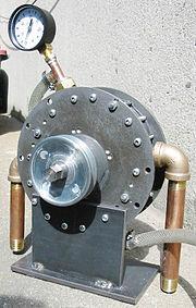 La Quasiturbine configurée en moteur à vapeur