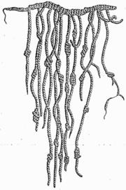 Exemple de quipu.