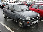 Une Renault 5 de première génération, en phase 2