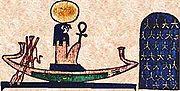 R� � bord de sa barque