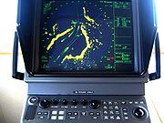 écran radar marine
