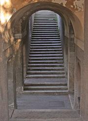 Un escalier � Rome