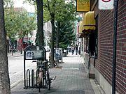 Rue Duluth, à Montréal, en août