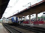 Un X 73500 en gare de Belfort (23/05/2006).