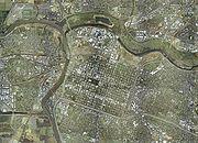 Photo satellite de Sacramento
