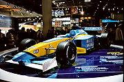 Formule 1 présentée au mondial de l'automobile 2002