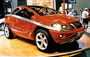 Concept-car présentée au mondial de l'automobile 2002