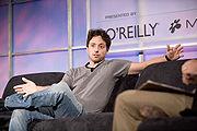 Sergey Brin lors de la Conference Web 2.0 2005