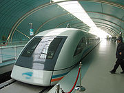 Le Transrapid de Shangaï