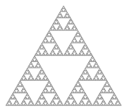 Un triangle de Sierpinsky