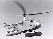 Le VS-300 de Igor Sikorsky , le premier appareil de configuration moderne (1939), avec son hélice verticale contra-rotative de queue.