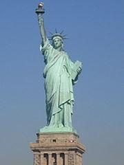 Avant la tour Eiffel, Gustave Eiffel a contribu� � la cr�ation de la statue de la Libert�, New York