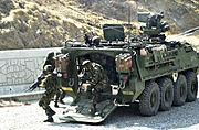Stryker de l'US Army