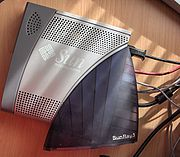 Sunray, le client léger de Sun Microsystems.