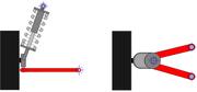 Suspension de type Mac-Pherson utilisée en automobile