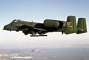 Le Republic A-10 Thunderbolt II américain