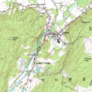 Un exemple de carte topographique américaine