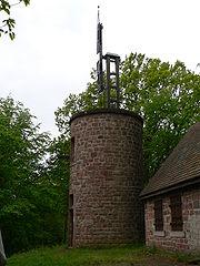 Tour du télégraphe Chappe près du château du Haut-Barr à Saverne